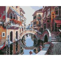Hobruk  558900 HS0077 Набор для рисования по номерам 'В Венеции' 40*50см