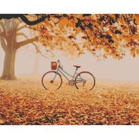 Hobruk  558971 HS0264 Набор для рисования по номерам 'Осенний парк' 40*50см