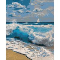 Hobruk  N0004655 HS0152 Набор для рисования по номерам 'Море волнуется' 40*50см