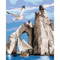 Hobruk  N0007575 HS0452 Набор для рисования по номерам 'Морская прогулка' 40*50см