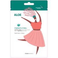 HONGBO CO LTD MSDS_Aloe1 Тканевая маска для лица Young Mediface (алоэ)