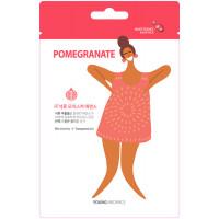 HONGBO CO LTD MSDS_Pomegranate1 Тканевая маска для лица Young Mediface (гранат)