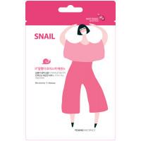 HONGBO CO LTD MSDS_Snail1 Тканевая маска для лица Young Mediface (экстракт улитки)