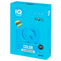 IQ COLOR AB48 Бумага цветная IQ color, А4, 160 г/м2, 250 л., интенсив светло-синяя, AB48