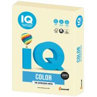 IQ COLOR BE66 Бумага цветная IQ color, А4, 160 г/м2, 250 л., пастель, ванильная, BE66