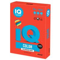 IQ COLOR CO44 Бумага цветная IQ color, А4, 160 г/м2, 250 л., интенсив, кораллово-красная, CO44