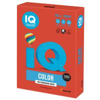 IQ COLOR CO44 Бумага цветная IQ color, А4, 120 г/м2, 250 л., интенсив, кораллово-красная, CO44