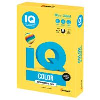 IQ COLOR CY39 Бумага цветная IQ color, А4, 160 г/м2, 250 л., интенсив, канареечно-желтая, CY39