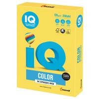 IQ COLOR CY39 Бумага цветная IQ color, А4, 120 г/м2, 250 л., интенсив, канареечно-желтая, CY39