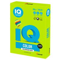 IQ COLOR LG46 Бумага цветная IQ color, А4, 160 г/м2, 250 л., интенсив, зеленая липа, LG46