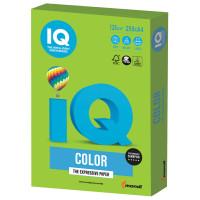 IQ COLOR MA42 Бумага цветная IQ color, А4, 120 г/м2, 250 л., интенсив, ярко-зеленая, MA42