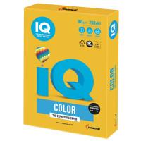 IQ COLOR SY40 Бумага цветная IQ color, А4, 160 г/м2, 250 л., интенсив, солнечно-желтая, SY40
