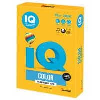 IQ COLOR SY40 Бумага цветная IQ color, А4, 120 г/м2, 250 л., интенсив, солнечно-желтая, SY40