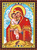 Искусница 307Б Набор для вышивания бисером «Искусница» 307 Образ Почаевской Пр.Богородицы