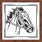 Искусница 633 Набор для вышивания крестом «Искусница» 633 Графика. Лошадь