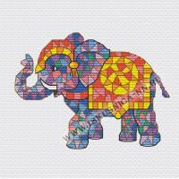 Искусница 658 Мозаика. Слон