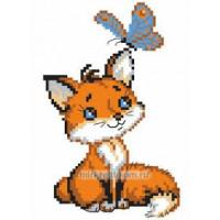 Искусница 8144 Лисёнок с бабочкой