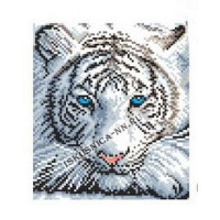 Искусница 8177 Белый тигр