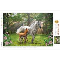 Искусница ББ-435 Лошадь с жеребёнком