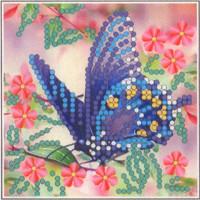 Искусница ББ008 Набор для вышивания бисером «Искусница» ББ-008 Бабочка синяя