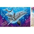 Искусница м737 Дельфины