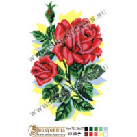 Искусница м763 Алые розы
