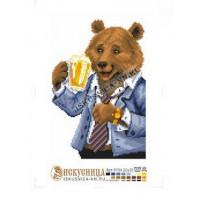 Искусница м8184 Медведь с пивом
