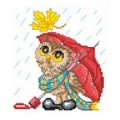 Искусница м8186 Сова под зонтом