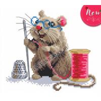 Искусница м8205 Мышка рукодельница