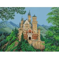 Искусница Набор для вышивания крестом «Искусница» 412 Баварский замок Набор для вышивания крестом «Искусница» 412 Баварский замок