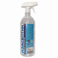 ИЗАСЕПТИК  Антисептик для рук и поверхностей спиртосодержащий (65%) с распылителем 1л ИЗАСЕПТИК, дезинфицирующий, жидкость