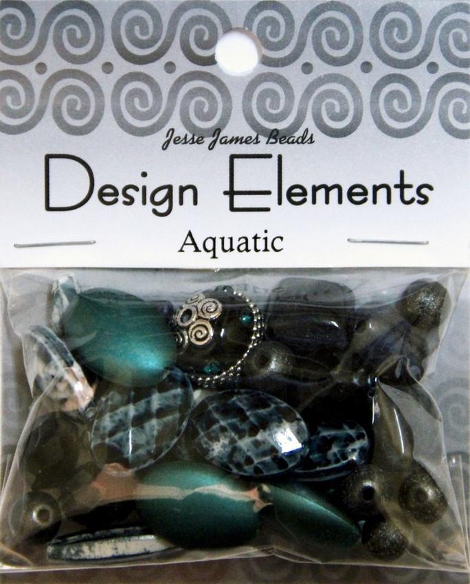 """Набор декоративных бусин """"Design Elements"""" 5910 Амфибия"""