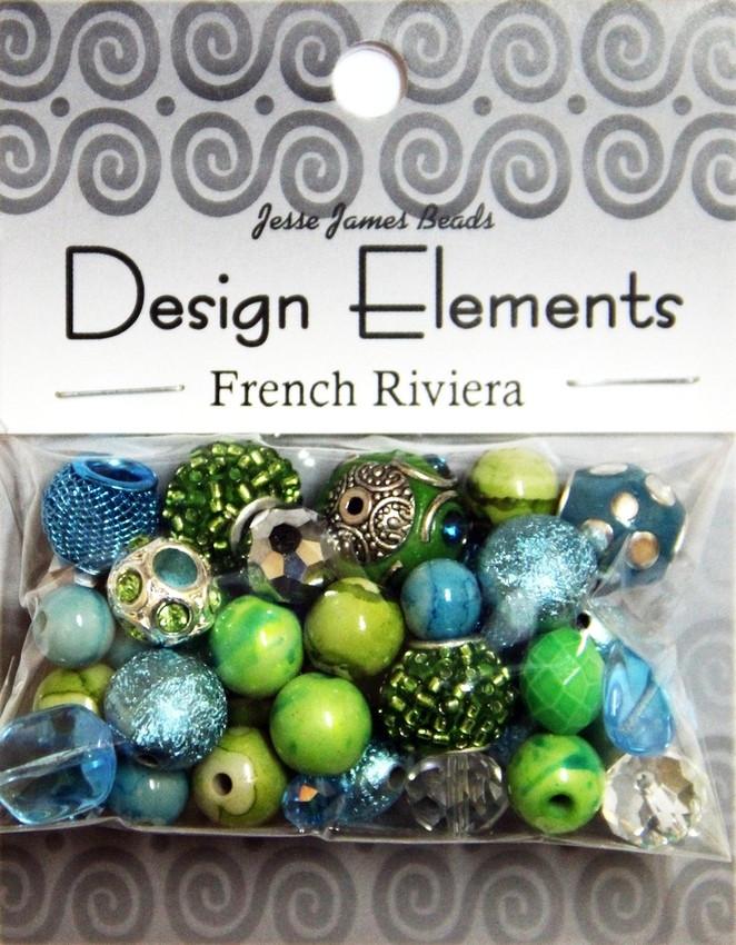 """Набор декоративных бусин """"Design Elements"""" 5922 Французская Ривьера"""