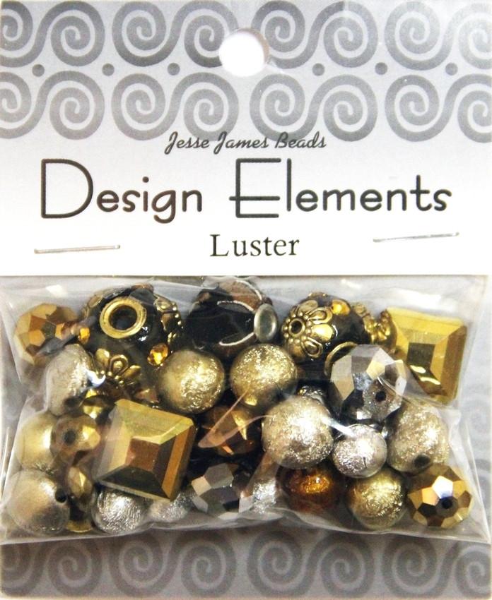 """Набор декоративных бусин """"Design Elements"""" 7203 Воск"""