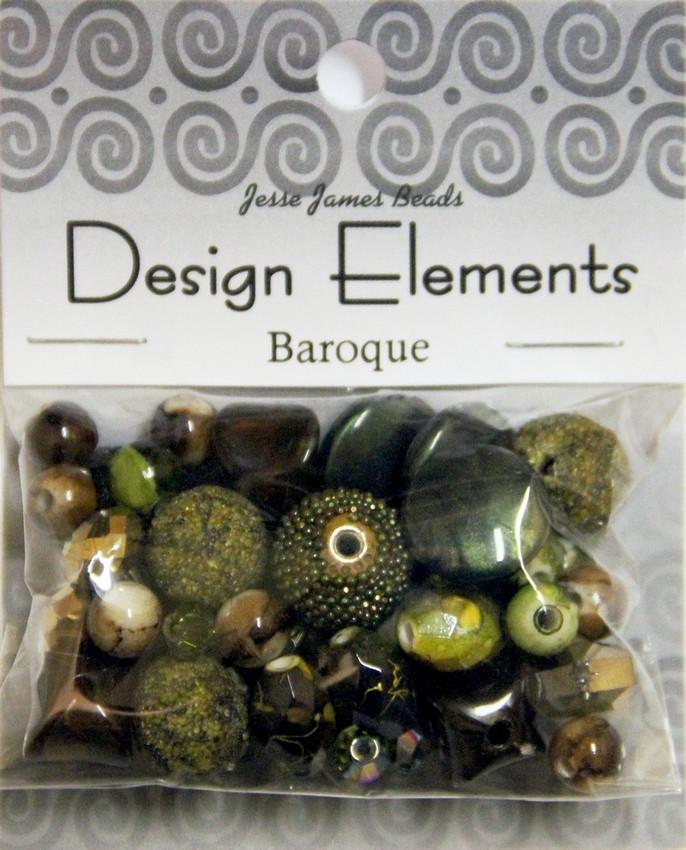 """Набор декоративных бусин """"Design Elements"""" 5905 Барокко"""