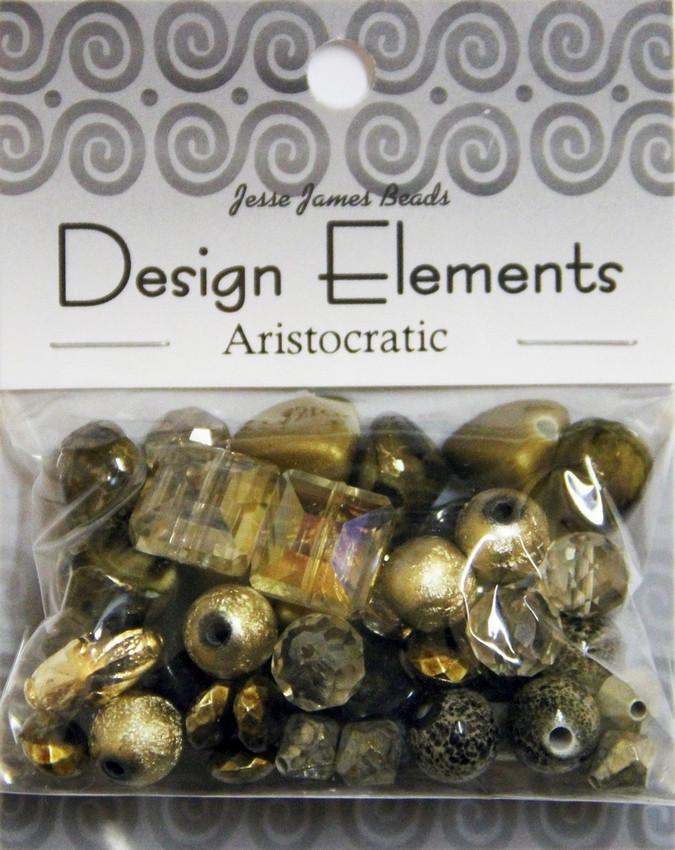 """Набор декоративных бусин """"Design Elements"""" 5901 Аристократия"""