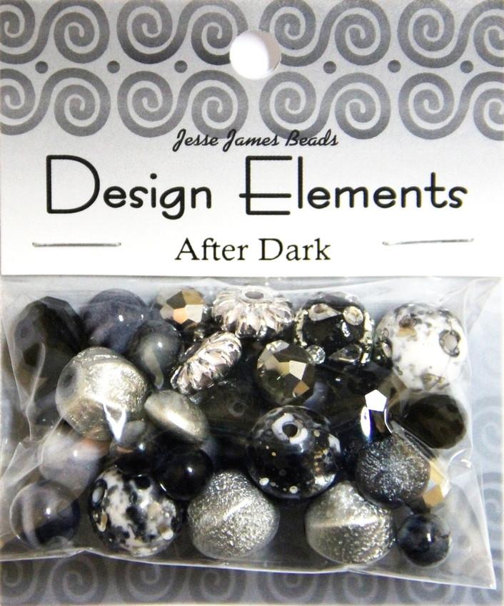 """Набор декоративных бусин """"Design Elements"""" 5918 Сумерки"""