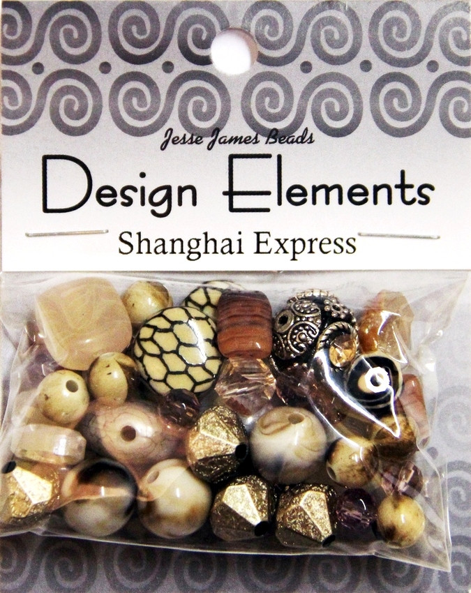 """Набор декоративных бусин """"Design Elements"""" 5926 Шанхайский экспресс"""