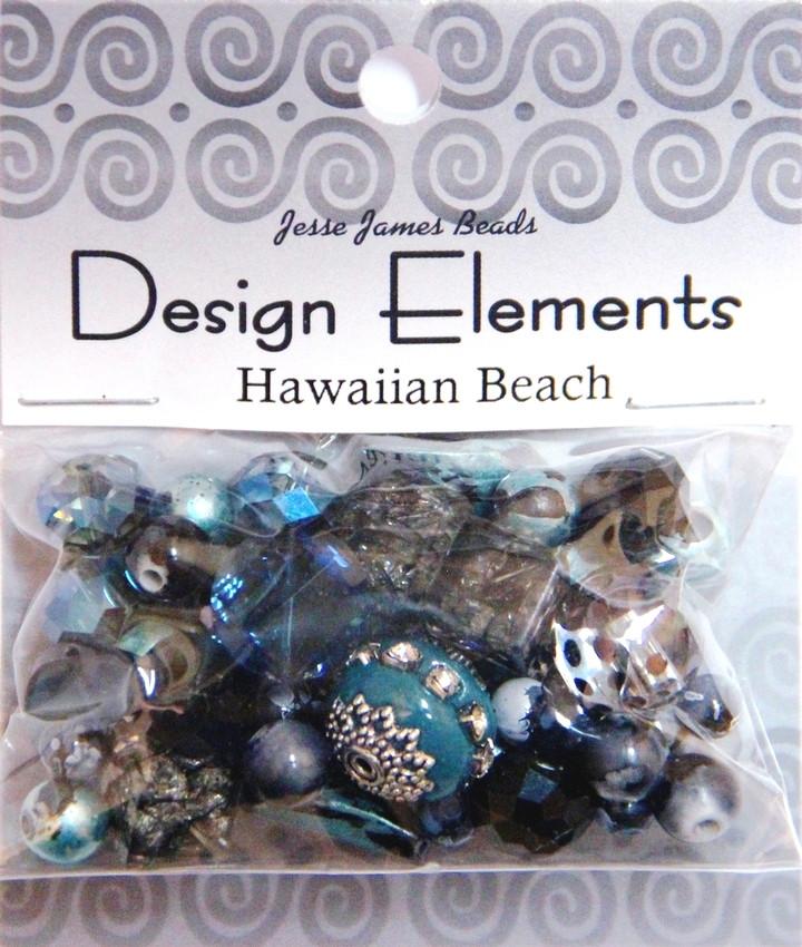 """Набор декоративных бусин """"Design Elements"""" 5919 Гавайский пляж"""