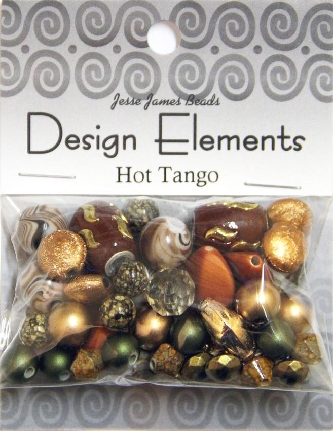 """Набор декоративных бусин """"Design Elements"""" 5906 Страстное танго"""