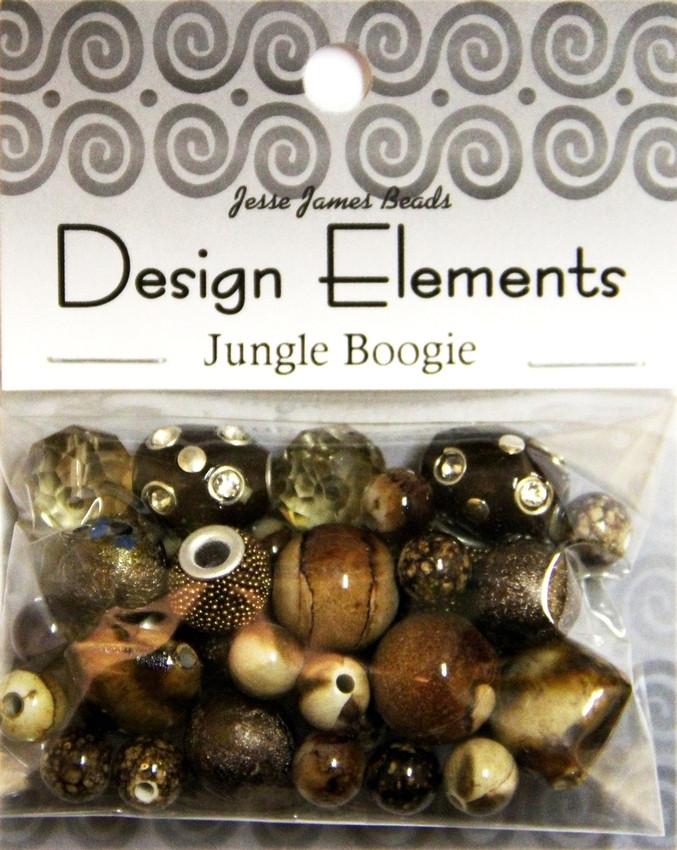 """Набор декоративных бусин """"Design Elements"""" 5909 Буги-вуги"""