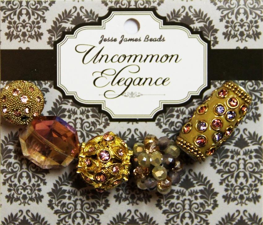"""Набор декоративных бусин """"Uncommon Elegance"""" 6453 Элегантность 19"""