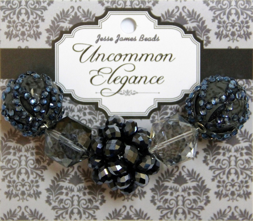 """Набор декоративных бусин """"Uncommon Elegance"""" 6454 Элегантность 20"""