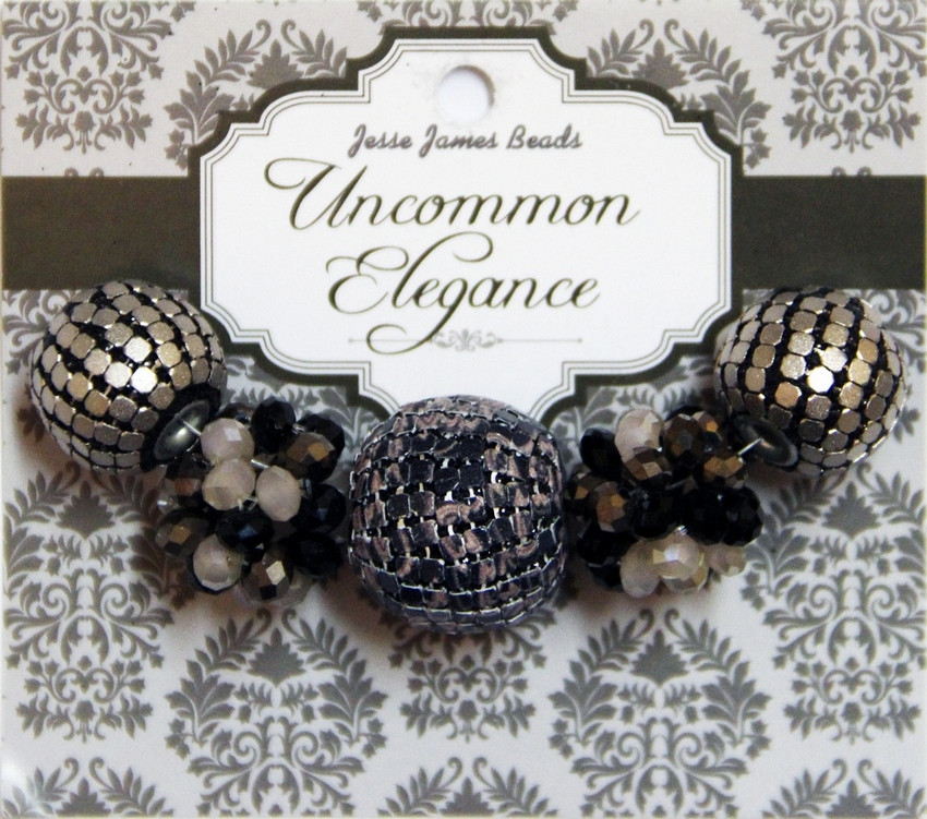 """Набор декоративных бусин """"Uncommon Elegance"""" 6622 Элегантность 21"""