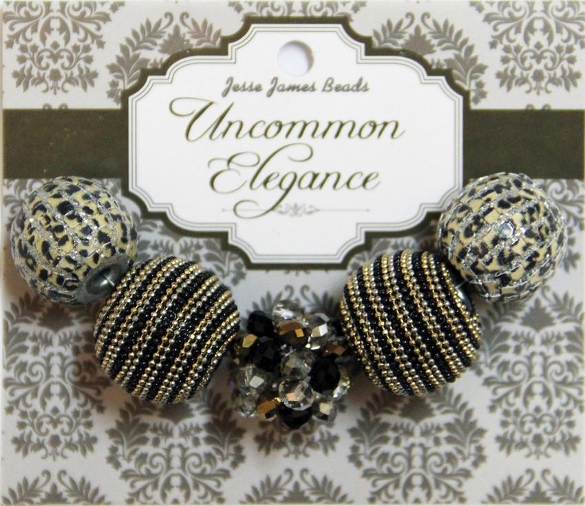 """Набор декоративных бусин """"Uncommon Elegance"""" 6624 Элегантность 23"""