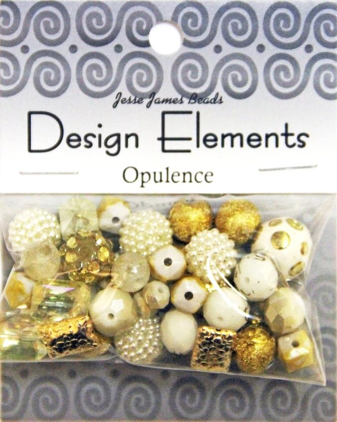 """Набор декоративных бусин """"Design Elements"""" 7205 Роскошь"""