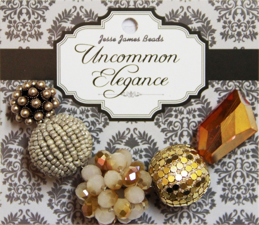 """Набор декоративных бусин """"Uncommon Elegance"""" 6448 Элегантность 14"""