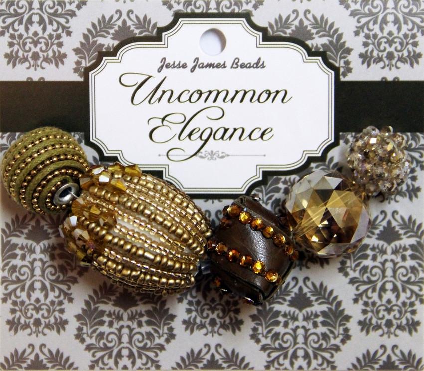 """Набор декоративных бусин """"Uncommon Elegance"""" 6449 Элегантность 15"""