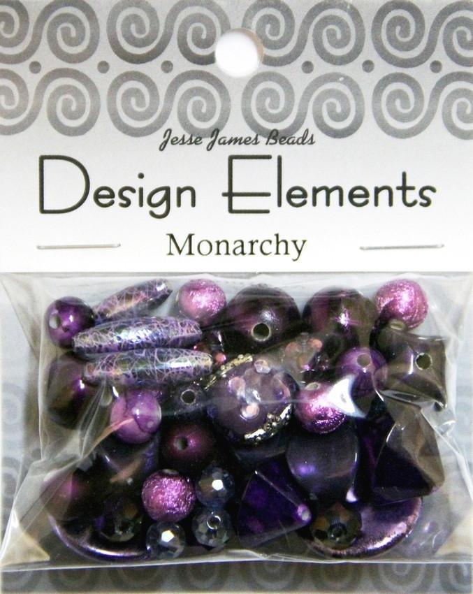 """Набор декоративных бусин """"Design Elements"""" 5921 Монархия"""