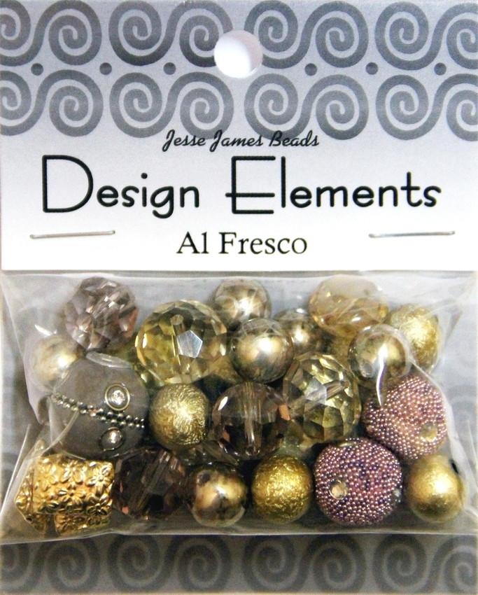 """Набор декоративных бусин """"Design Elements"""" 5894 На природе"""